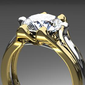 CGイメージ(ダイヤモンドの指輪)
