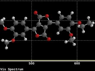 分子モデルイメージ(中)2