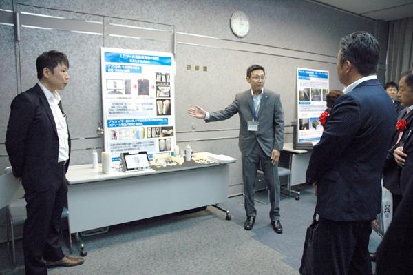 共同開発事例展示会の様子